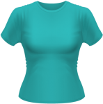 T-Shirt Basic Women Swimming Pool | S